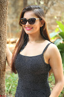 Aswini in lovely Deep Neck Sleeveless Black Dress Spicy Pics ~  Exclusive 65.JPG