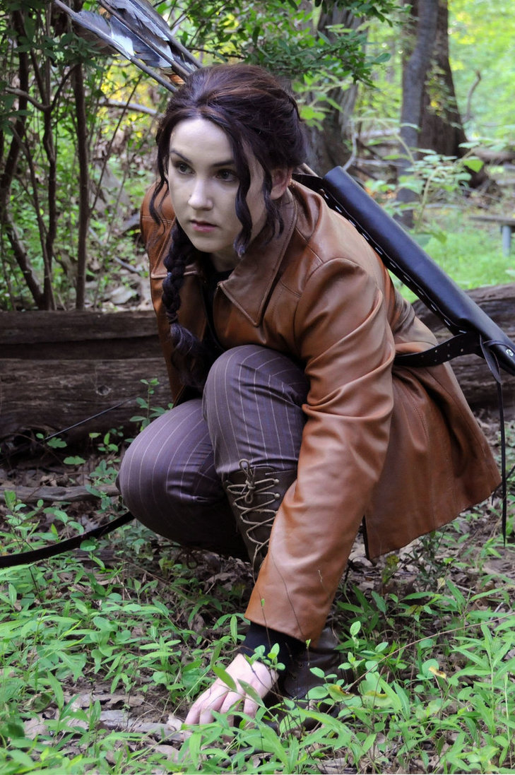 katniss everdeen hunting costume katniss everdeen halloween  katniss everdeen hunting costume katniss everdeen