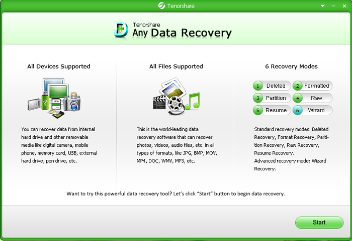 Tenorshare Android Data Recovery 4.3.0.0 + Crack + 100% Working