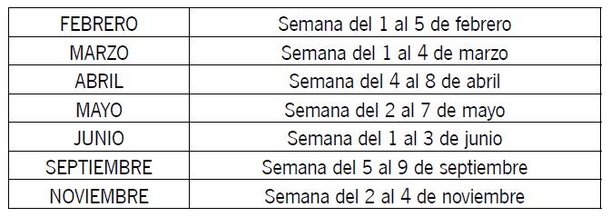Calendario Ual.Orienta Sue Bases Generales Y Calendario De Las Futuras