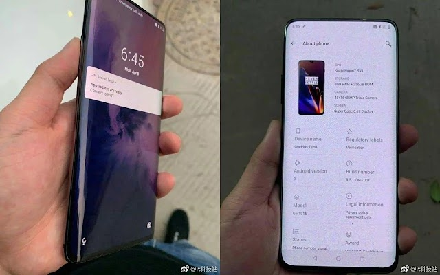 Now know the new OnePlus 7 Pro phone, Specifications and Features