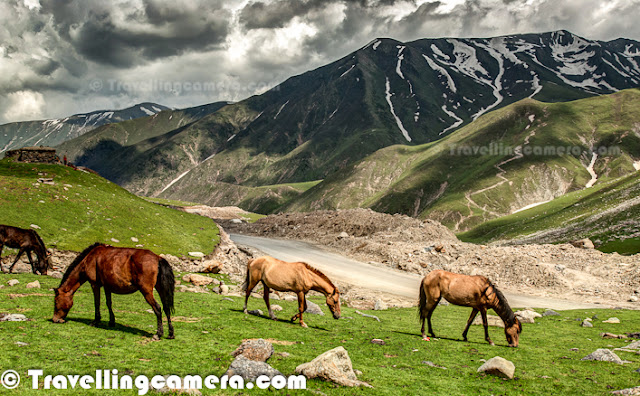 Peer Ki Gali is an amazing place on old Mughal road in Jammu & Kashmir State of India. This place is the highest passes on Srinagar Rajouri historic Mughal Road at 11300 Feets.