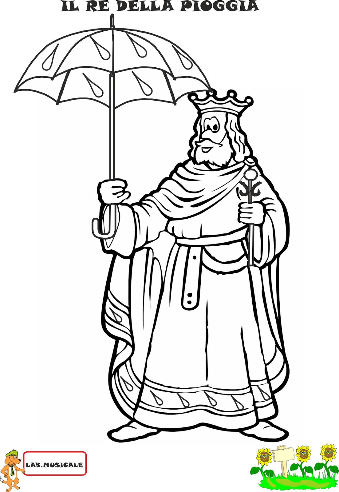 Eccezionale A Scuola con Poldo: Piano/forte: il gioco del Re della pioggia UV42