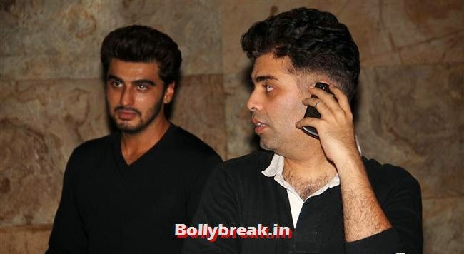 Arjun Kapoor and Karan Johar, Alia Bhatt, Sonakshi Sinha at Special Screening of 2 States