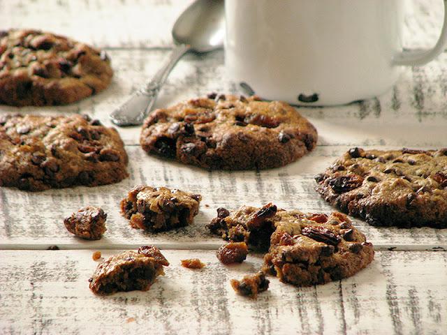 recette de cookies sans gluten à la farine de châtaigne et beuure noisette
