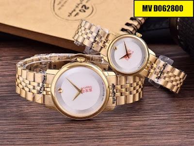 đồng hồ cặp đôi Movado Đ062800