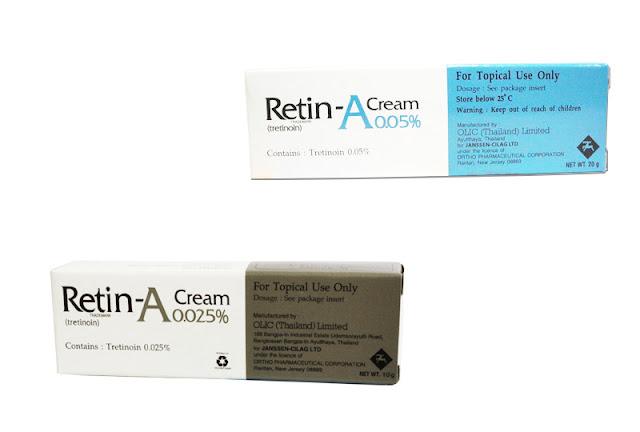 ยาทาสิวอุดตัน Retin-a