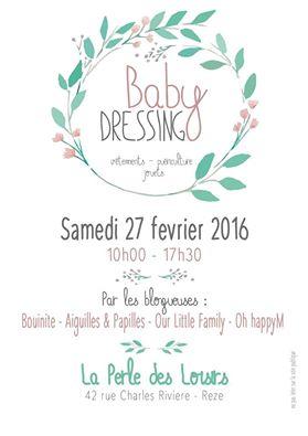 affiche, vide dressing baby, blogueuse, la perle des loisirs