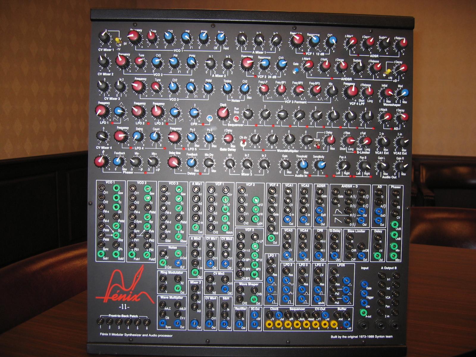 matrixsynth fenix ii modular synthesizer. Black Bedroom Furniture Sets. Home Design Ideas