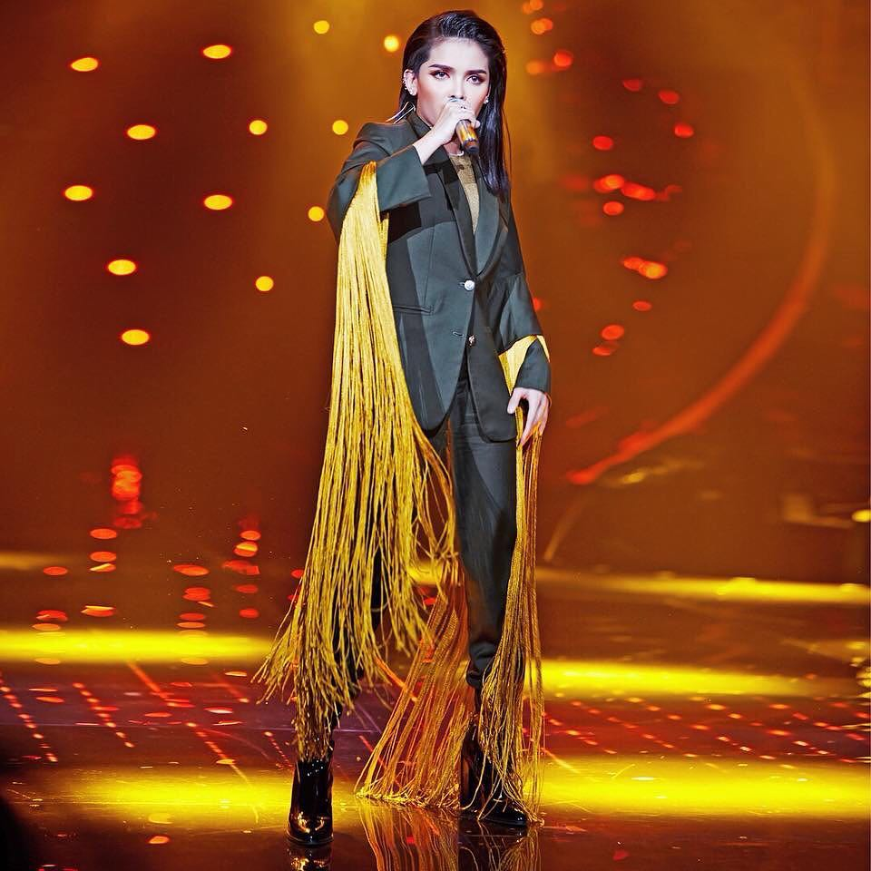 KZ Tandingan emotional after being eliminated from Singer 2018
