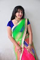 HeyAndhra Roshini Half Saree Photo Shoot HeyAndhra.com