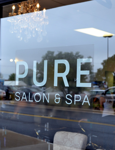 Pure Salon & Spa was an unexpected design inspiration hot spot for us!