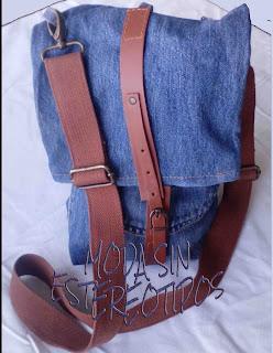 Bandolera vaquera DIY; Shoulder bag