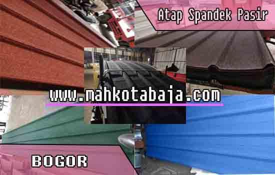 Harga Atap Spandek Pasir Bogor