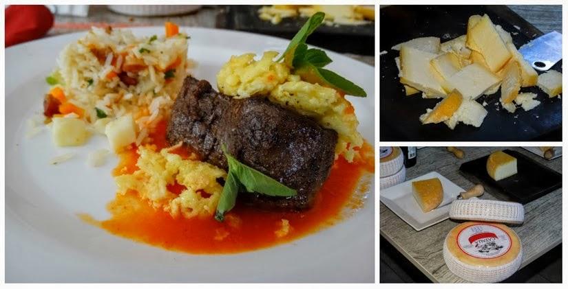 Filé de queijo Catauá e arroz à grega  - Onde comer em São João del Rei - Review Restaurante Dedo de Moça