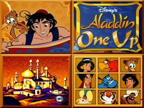 Play More Aladdin games