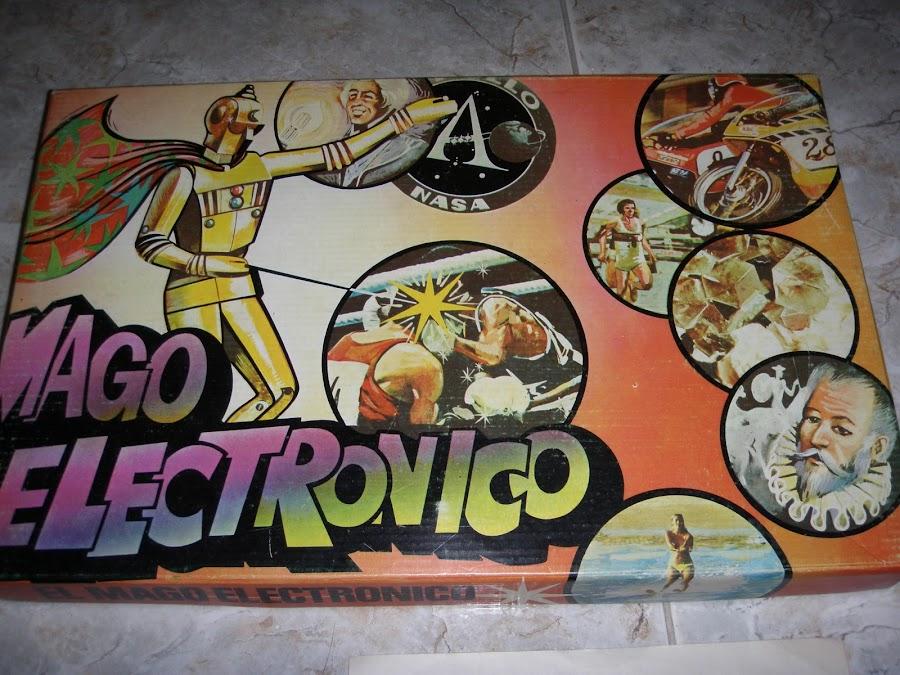 juego mago electrónico años 80