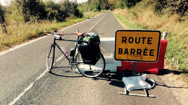Route Barre near Tours in the Loire valley.