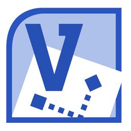 Microsoft Visio 2010 Logo Folder icon