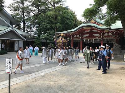 八坂神社神輿発輿祭(平成29年7月15日)