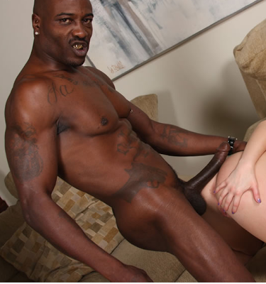 His big black cock just drives me wild