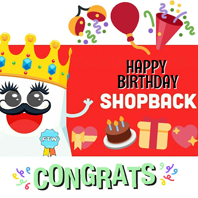 shopback cashback birthday celebration