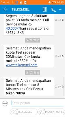 bonus nelpon gratis dari telkomsel