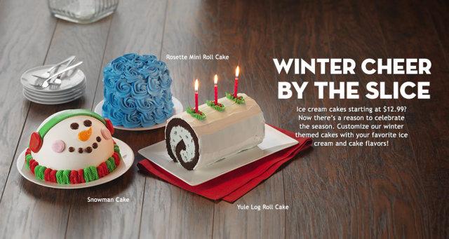 Ice Cream King Cake Baskin Robbins