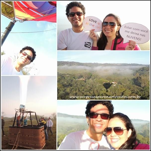 voo de balão minas gerais