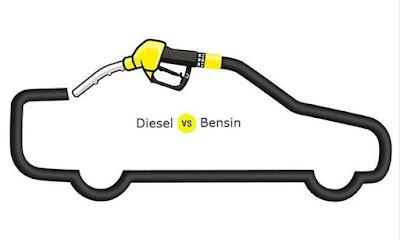 Mesin Diesel Vs Bensin