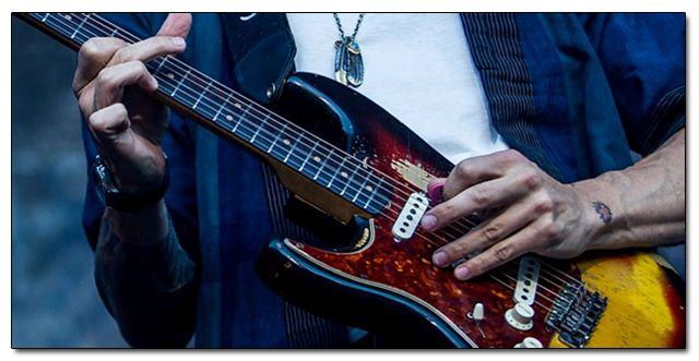 Escalas de Guitarra para Zurdos
