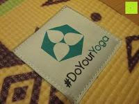 """Logo: Yogamatte """"Ravana"""" Die ideale Yoga- und Gymnastikmatte für Yoga-Einsteiger. Maße: 183 x 61 x 0,4cm / Indian türkis"""
