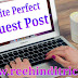 Perfect guest post kaise likhe