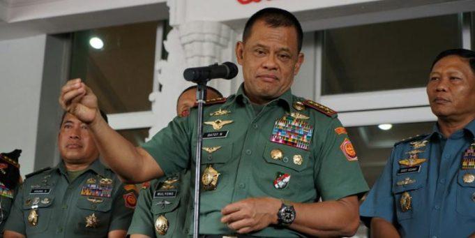 Panglima: Waspadai Adu Domba TNI dengan Rakyat dan Institusi lain