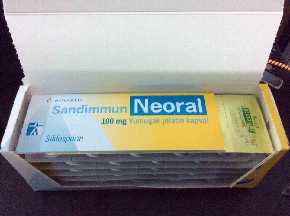 SANDIMMUN NEORAL 100MG - thuốc ức chế miễn dịch