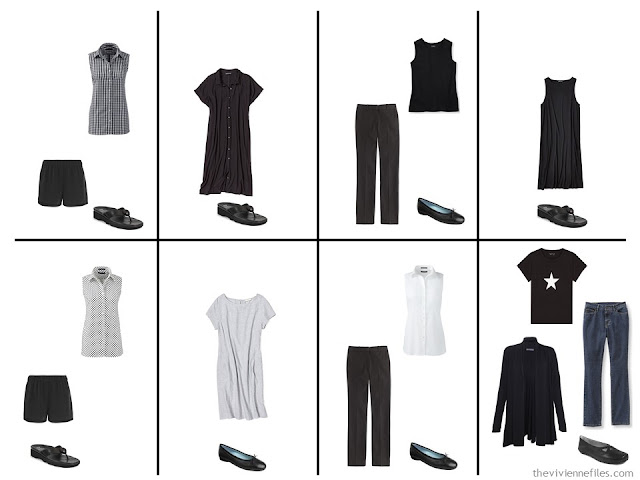 A travel capsule wardrobe for Paris, France