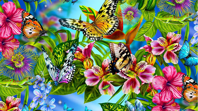 Butterfly backgrounds 8