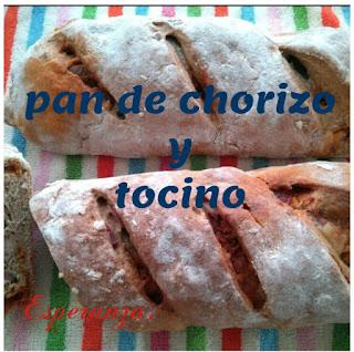 Pan De Chorizo Y Tocino