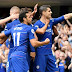 Chelsea win five-goal thriller against Arsenal at Stamford Bridge