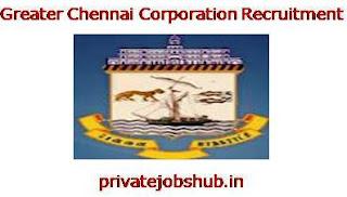 Greater Chennai Corporation Recruitment