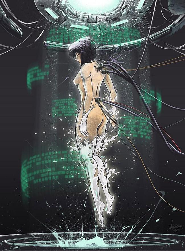 JP Valderrama aka Fresh Doodle - Ghost in the Shell