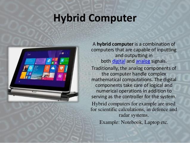 Classification of Computer analog, digital, hybrid | Tech