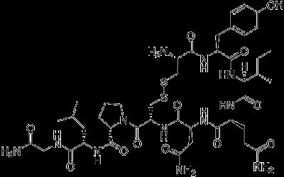 struktur senyawa oksitosin