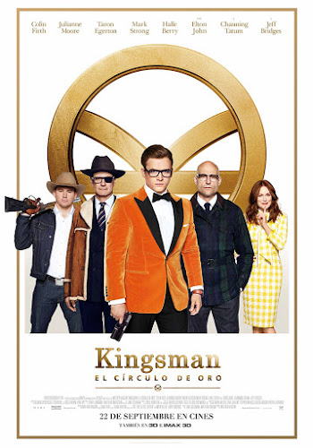 Kingsman: The Golden Circle (BRRip 720p Dual Latino / Ingles) (2017)