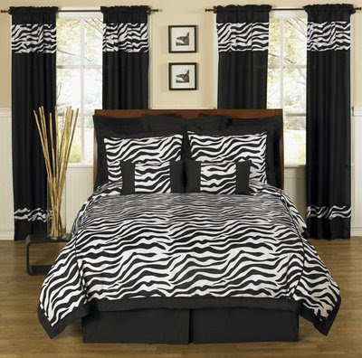 Home Decorating Ideas: Home Decor for Bed Room with Zebra Motif