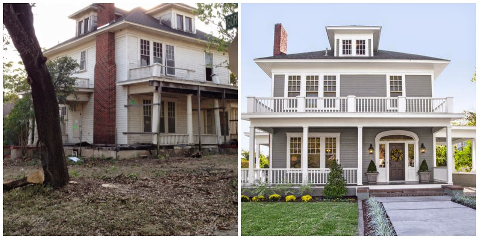 Before & After Fixer Upper | My HGTV | Pinterest | Curb ...  |Fixer Upper Before And After