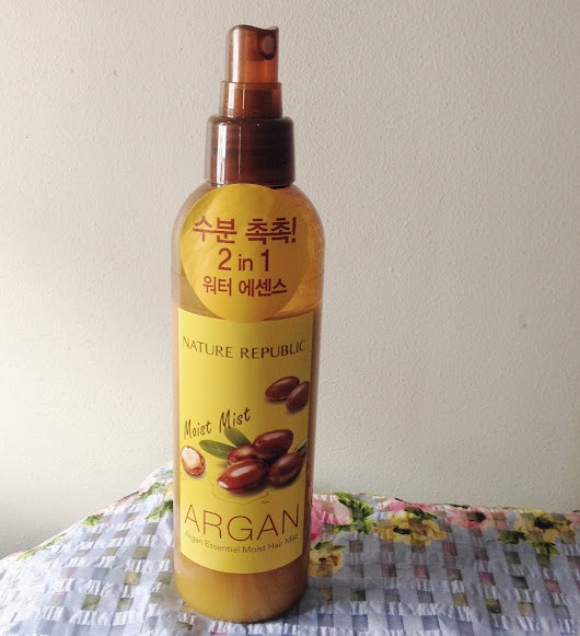 Hair Talk Thursday: Nature Republic Argan Essential Moist Hair Mist