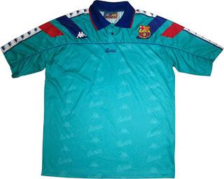 Gambar jersey barcelona away Kappa musim 1992/1994 di enkosa sport jual jersey barcelona kappa retro di enkosa tanah abang