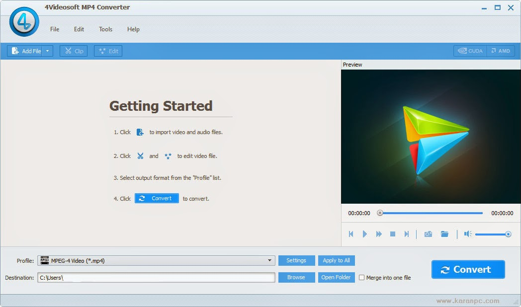 4Videosoft MP4 Converter Full Version
