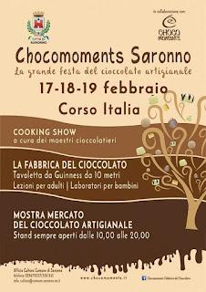 Festa del Cioccolato 17-18-19 febbraio Saronno (VA)